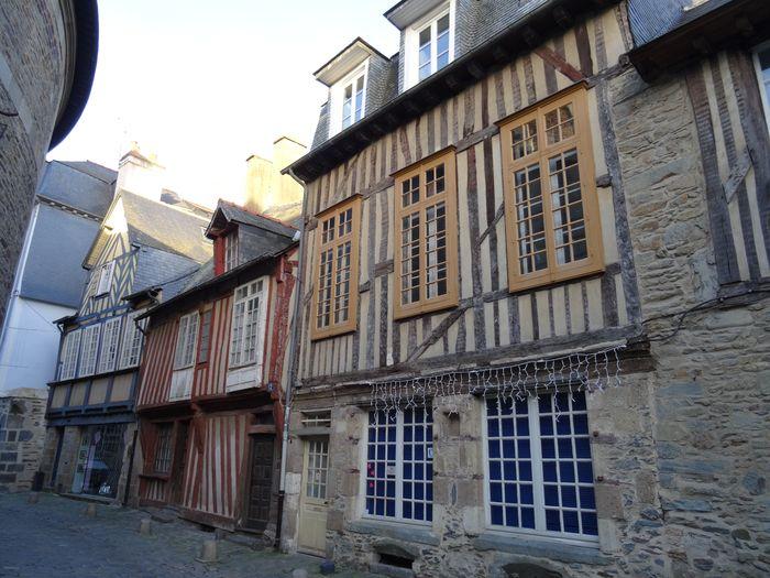Rennes, maison à colombage